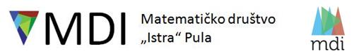 """Matematičko društvo """"Istra"""""""