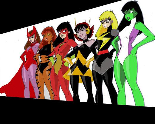Avengers Assemble por inspector97
