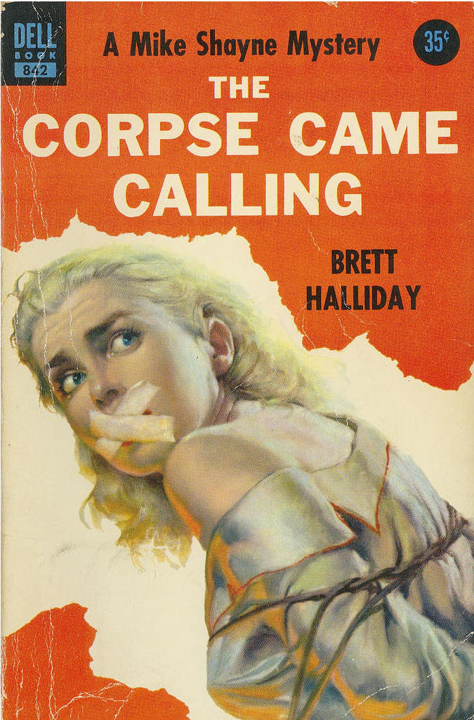 Killer covers the corpse came calling by brett halliday the corpse came calling by brett halliday fandeluxe Image collections