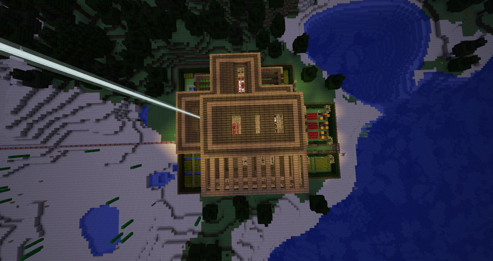 My Minecraft Constructions  Minecraft Lego House