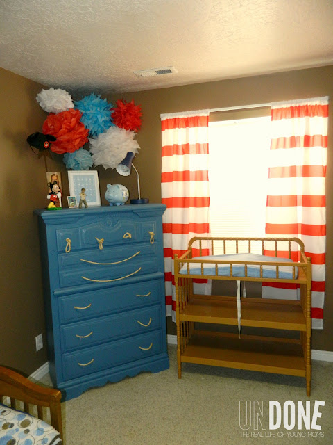 {The UNDONE Blog} Red, White, and Blue Nursery