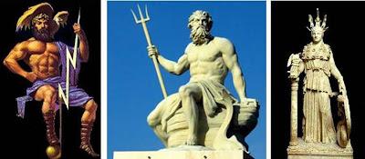 Diferencias entre los Dioses Griegos y Romanos