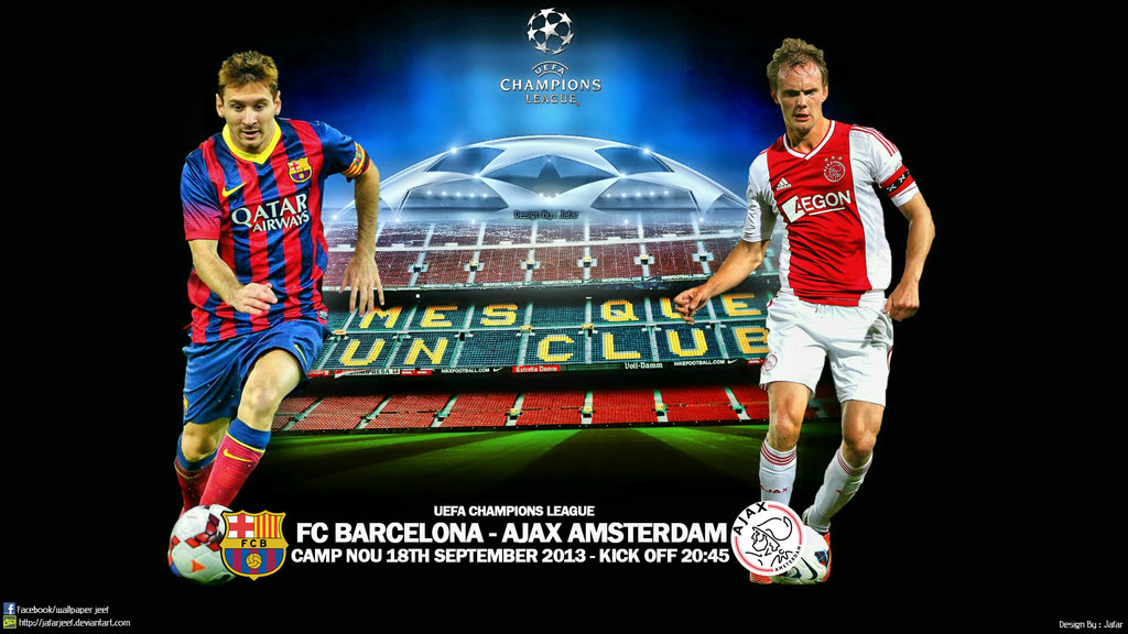 BARCELONA – AJAX LIVE STREAMING