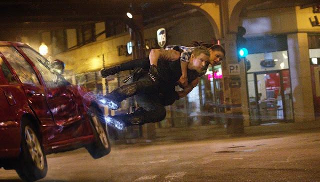 Channing Tatum gravity boots Mila Kunis jupiter ascending still
