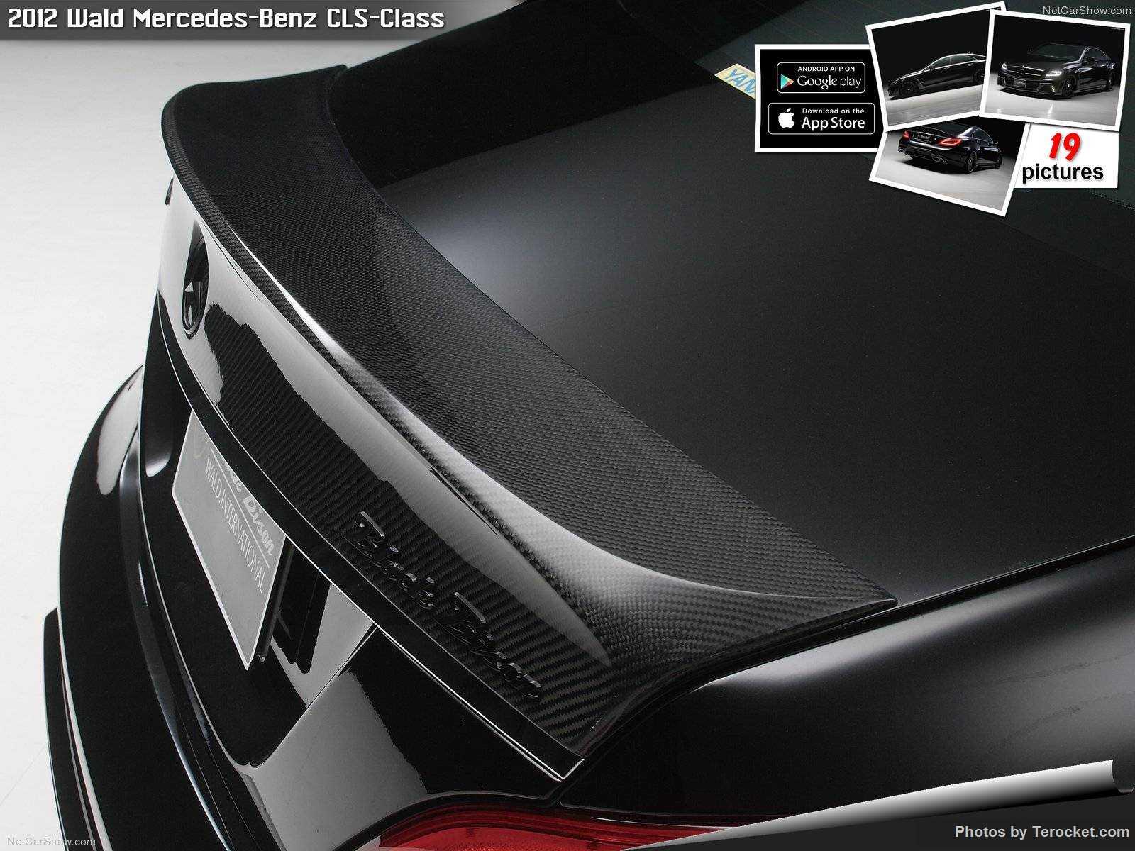 Hình ảnh xe độ Wald Mercedes-Benz CLS-Class 2012 & nội ngoại thất