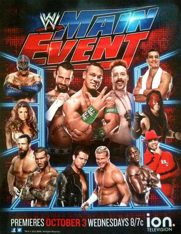 WWE Main Event: buena idea, pero en rodaje.