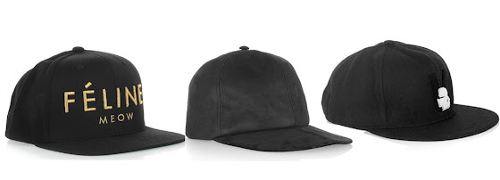 baseball caps sold at Net-a-Porter