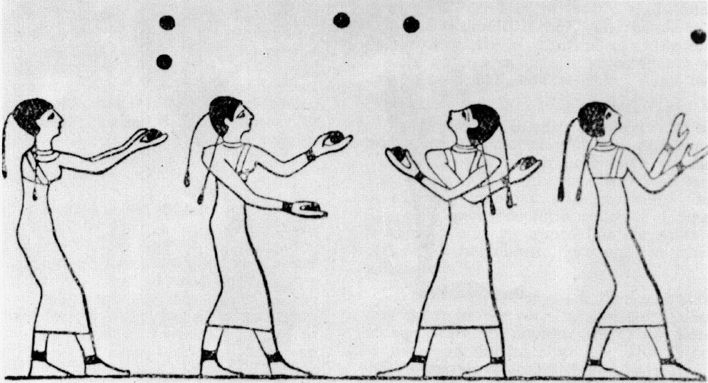 Ancient Egyptian klutzes