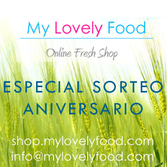 SORTEO ANIVERSARIO DE MY LOVELY FOOD
