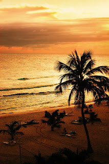Sunset-at-Barbados-Island