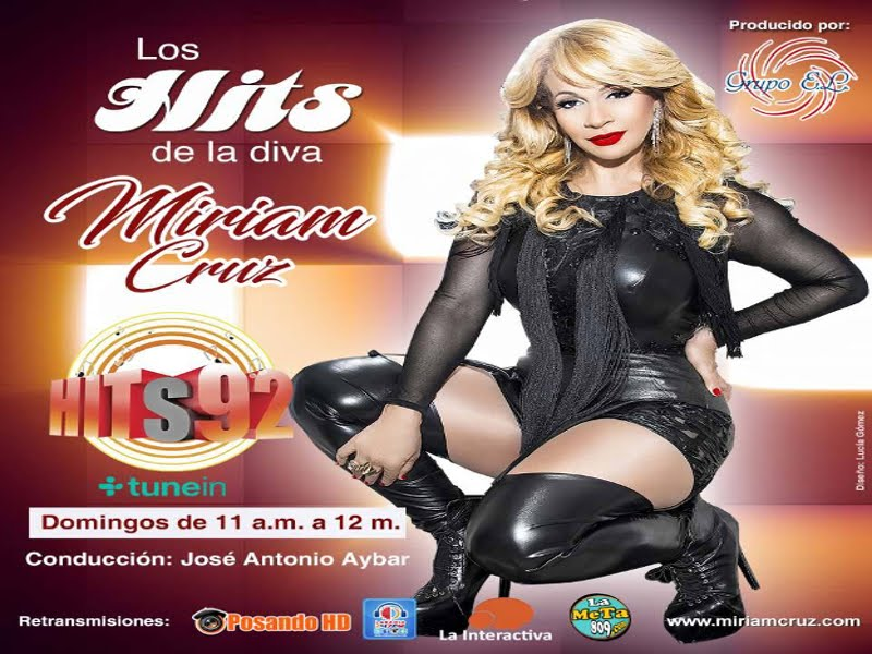 Los Hits De La Diva Domingos 11am- 12m