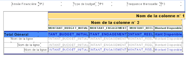 Couche conception - Crystal Reports