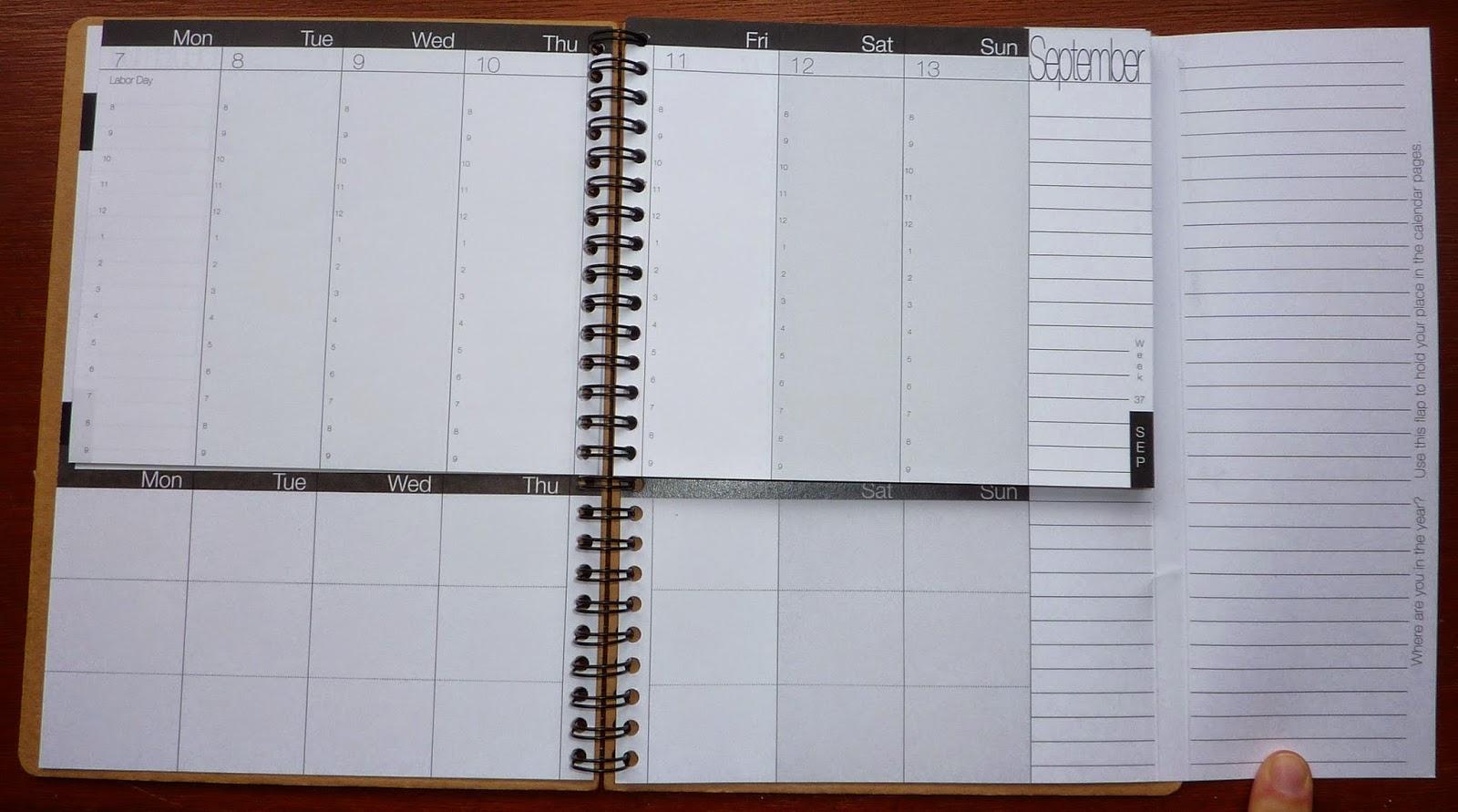 Plannerisms: WeekDate 2015-2016 Academic year planner: new features!