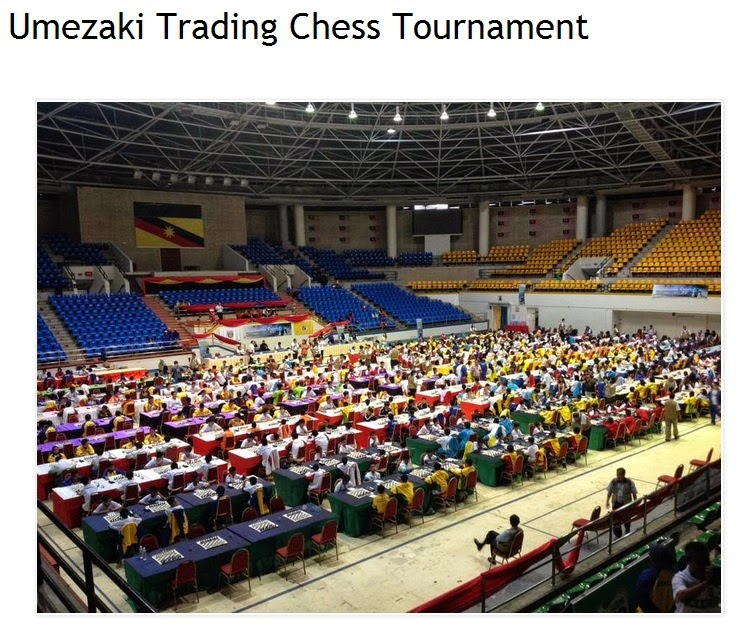 Umezaki Trading Chess Tonurnament
