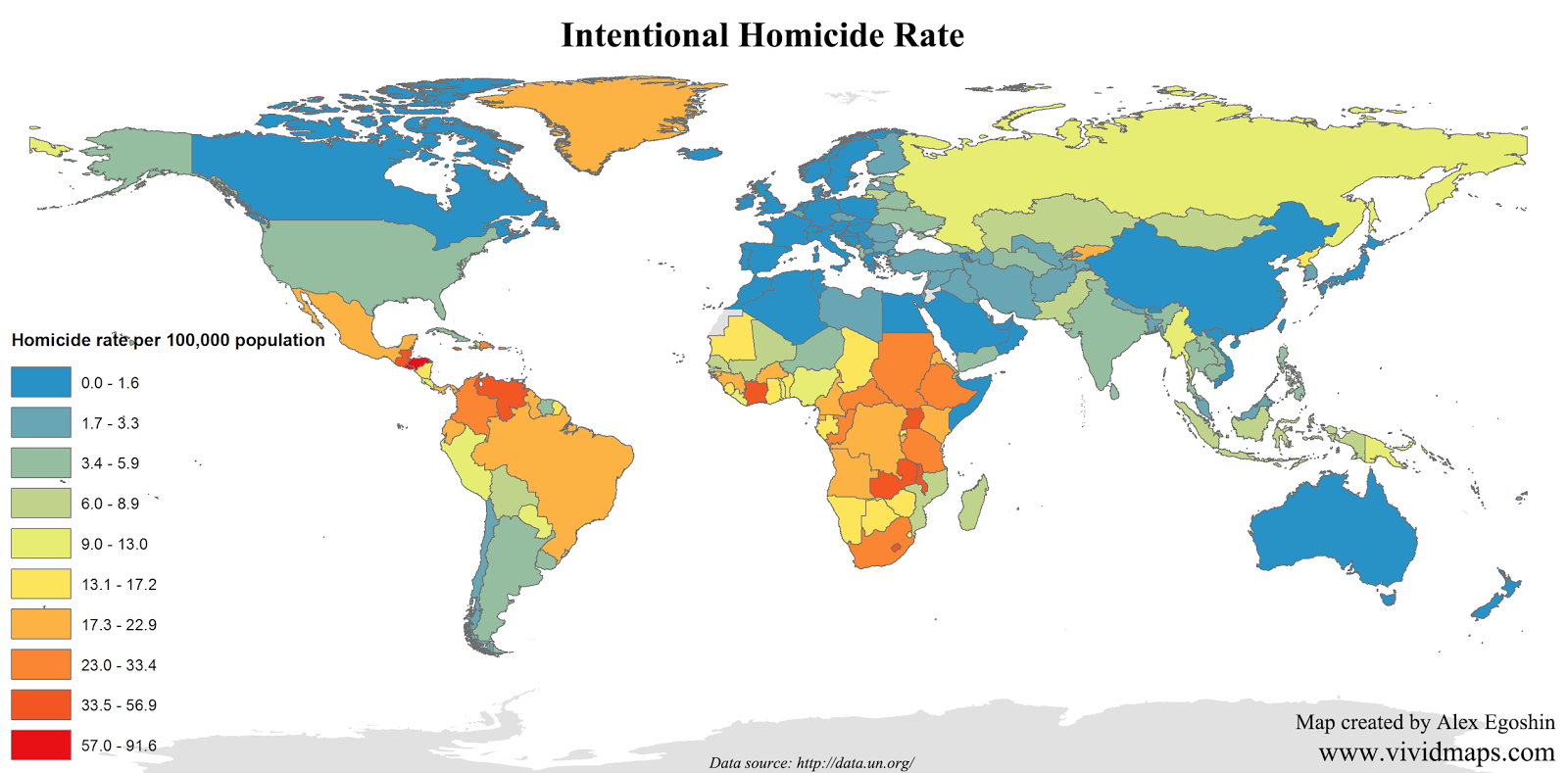 Intentional homicide rate