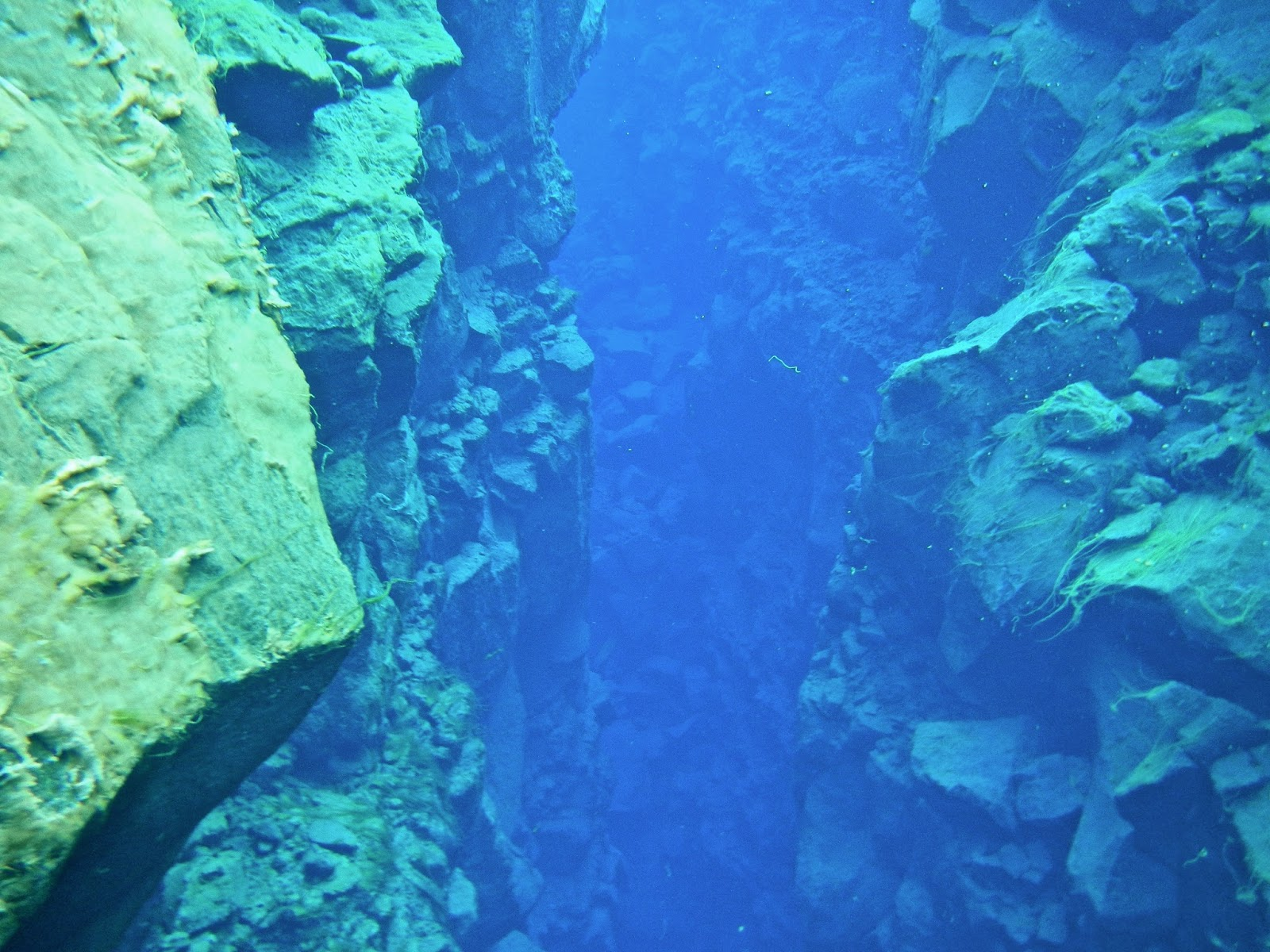 Snorkeling the Silfra Fissure at Thingvellir National Park in Iceland with Arctic Adventures