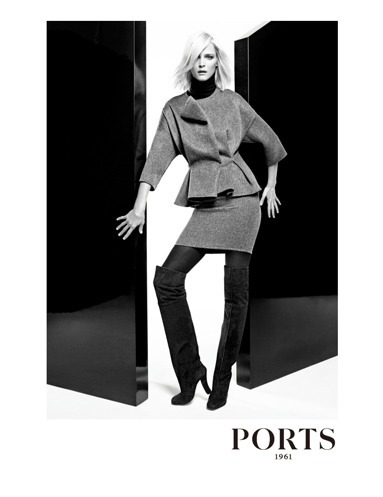 smile ad caign ports 1961 f w 12 13 carmen kass by