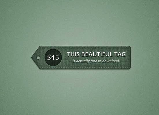 Detailed Price Tag