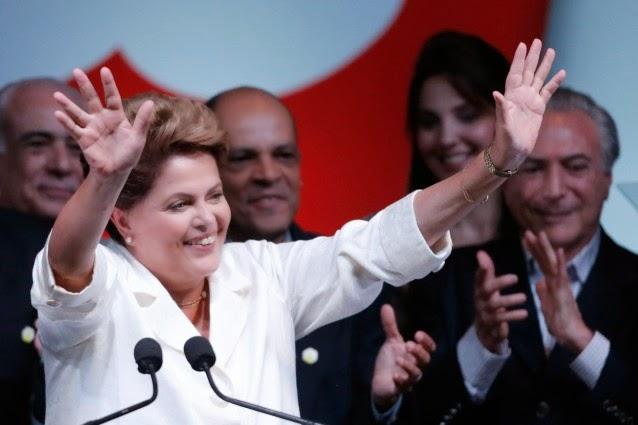 Brazilian president Dilma Rousseff (Credit: AP/Eraldo Peres)  Click to enlarge.