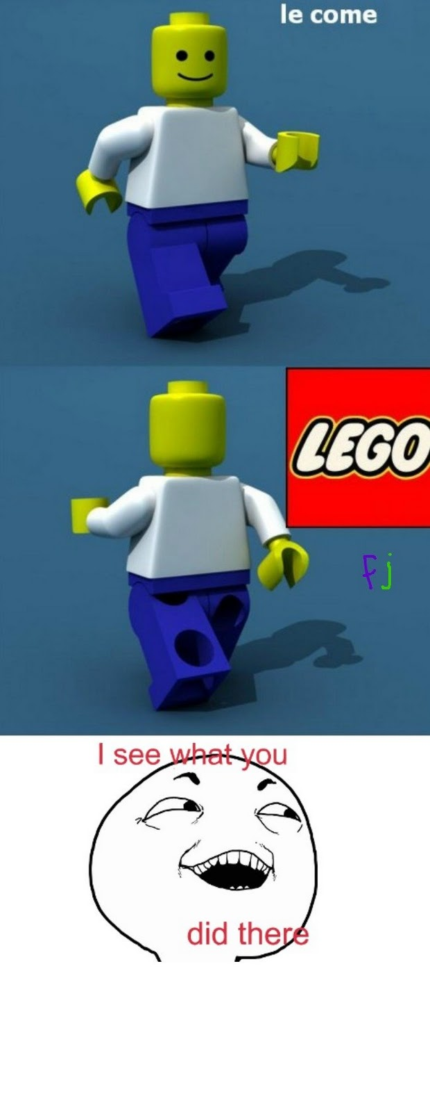 More funny | Meme | Rage Comics: Le come - Lego