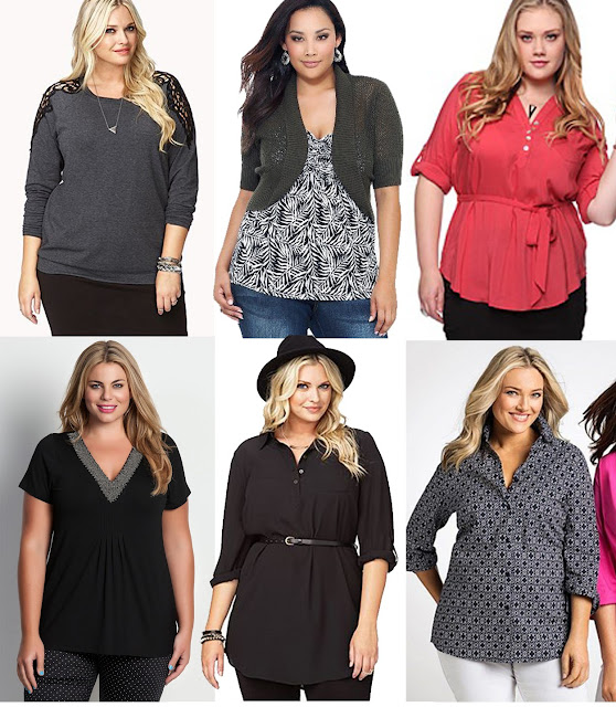 How to dress for plus size - women