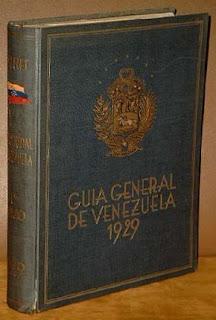 Guia General de Venezuela 1929 - Tomo 1