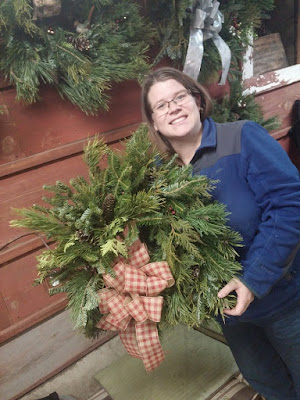 Girls Night Out Christmas Edition - Carlson Tree Farm Wreath Workshop, Coulter, Iowa