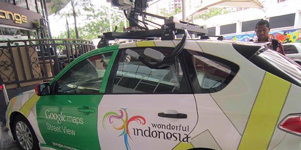 Ini Dia Mobil Google Pemotret Jakarta [ www.BlogApaAja.com ]