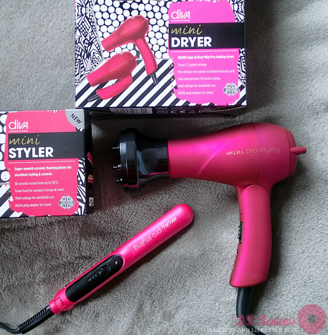 Travel Sized Styling Tools From Diva Professional Styling