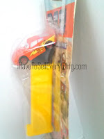 Pez Cars 2 McQueen candy dispenser