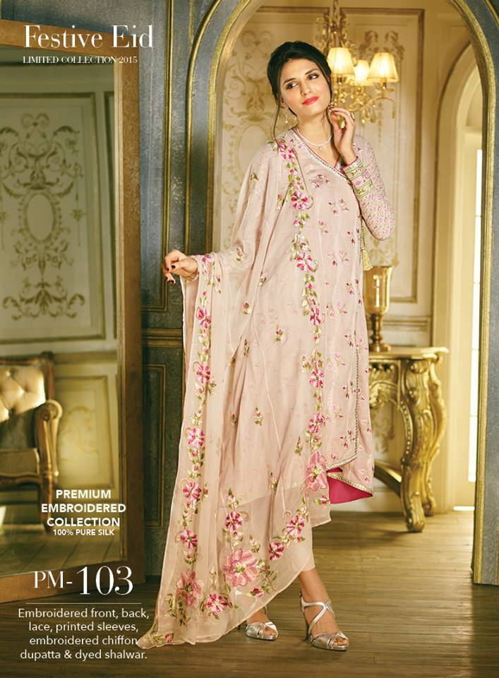 Gul ahmed embroidery work dresses collection fashionip