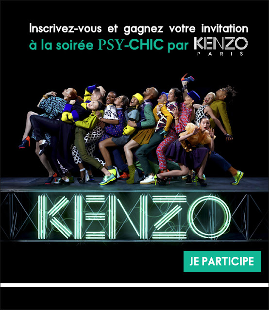 2000 lots de 2 invitations pour la soirée Kenzo