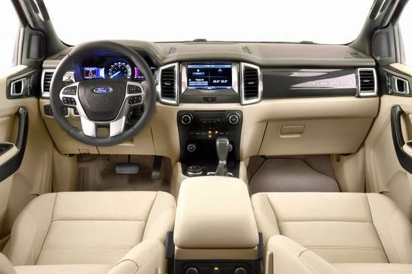 2015 Ford Ranger Wildtrak Facelift Interior