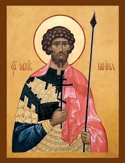 Azi 11 noiembrie praznuirea Sfantului Mare Mucenic Mina !