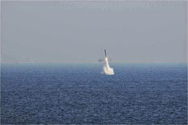 India test fires submarine launched  BrahMos Missile