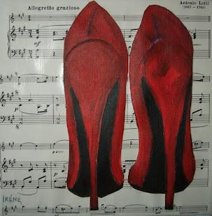 skor i akryl