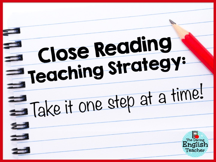 how to teach reading strategies middle school