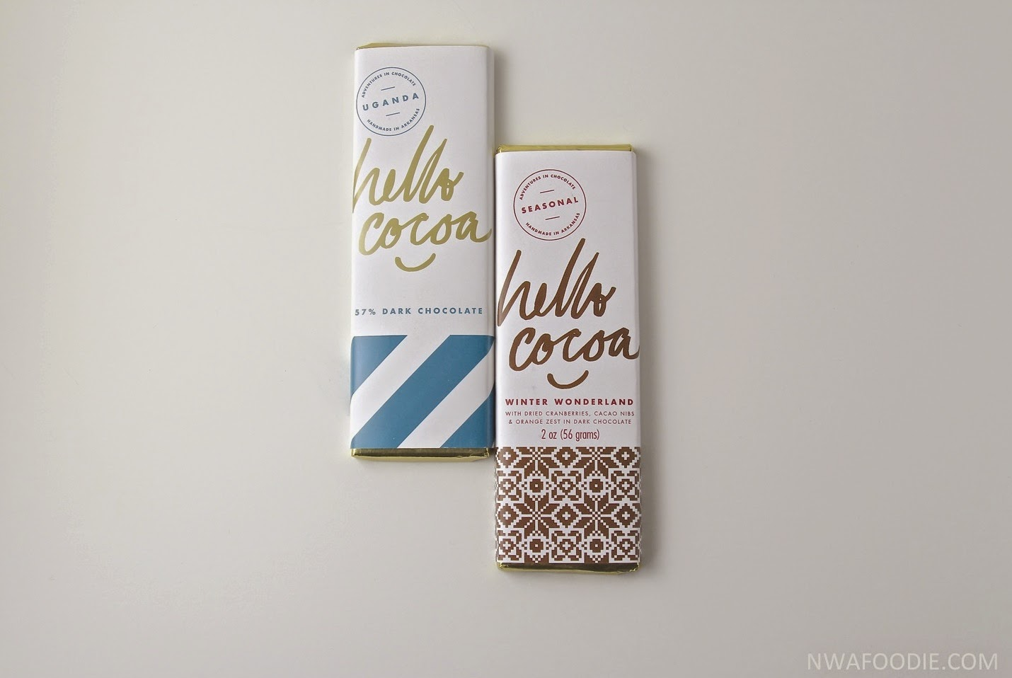 Hello Cocoa #local Northwest Arkansas chocolate bars (c)nwafoodie