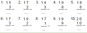 Soal Matematika Kelas 1 Bab 1 Pondok An