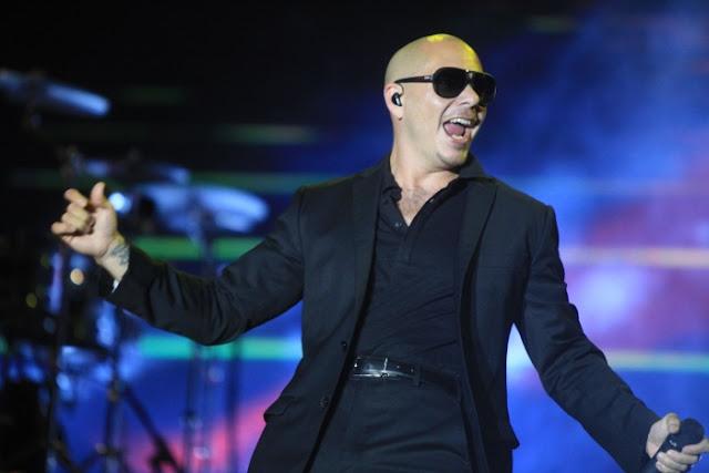 Festa de ano-novo com o Pitbull em Miami