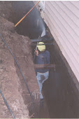 Waterloo Basement Foundation Excavate and Waterproof dial 1-800-334-6290 Waterloo