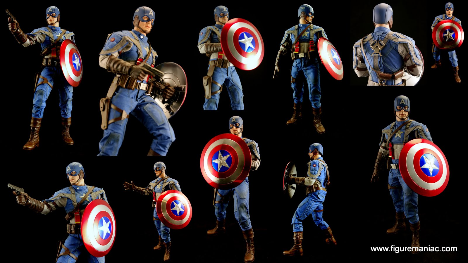 hot toys captain america mms156 part 2 more captain. Black Bedroom Furniture Sets. Home Design Ideas
