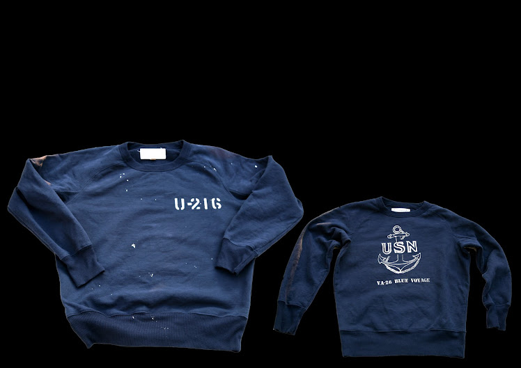 HR US NAVY BLUE SWEATSHIRTS
