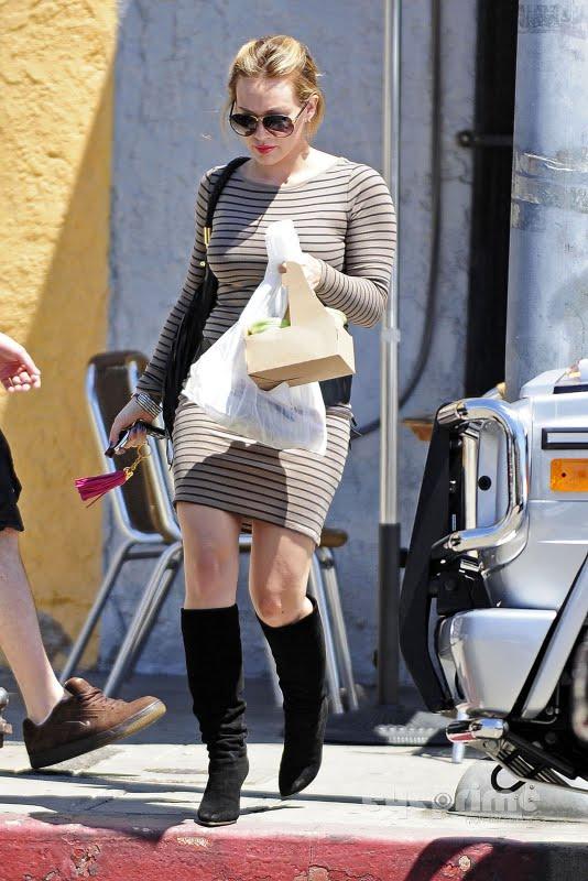 Hilary Duff in Hollywood