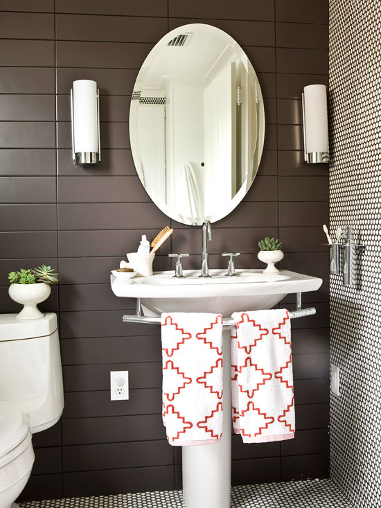 Bathroom decorating design ideas 2012 with neutral color for Small bathroom ideas 2012
