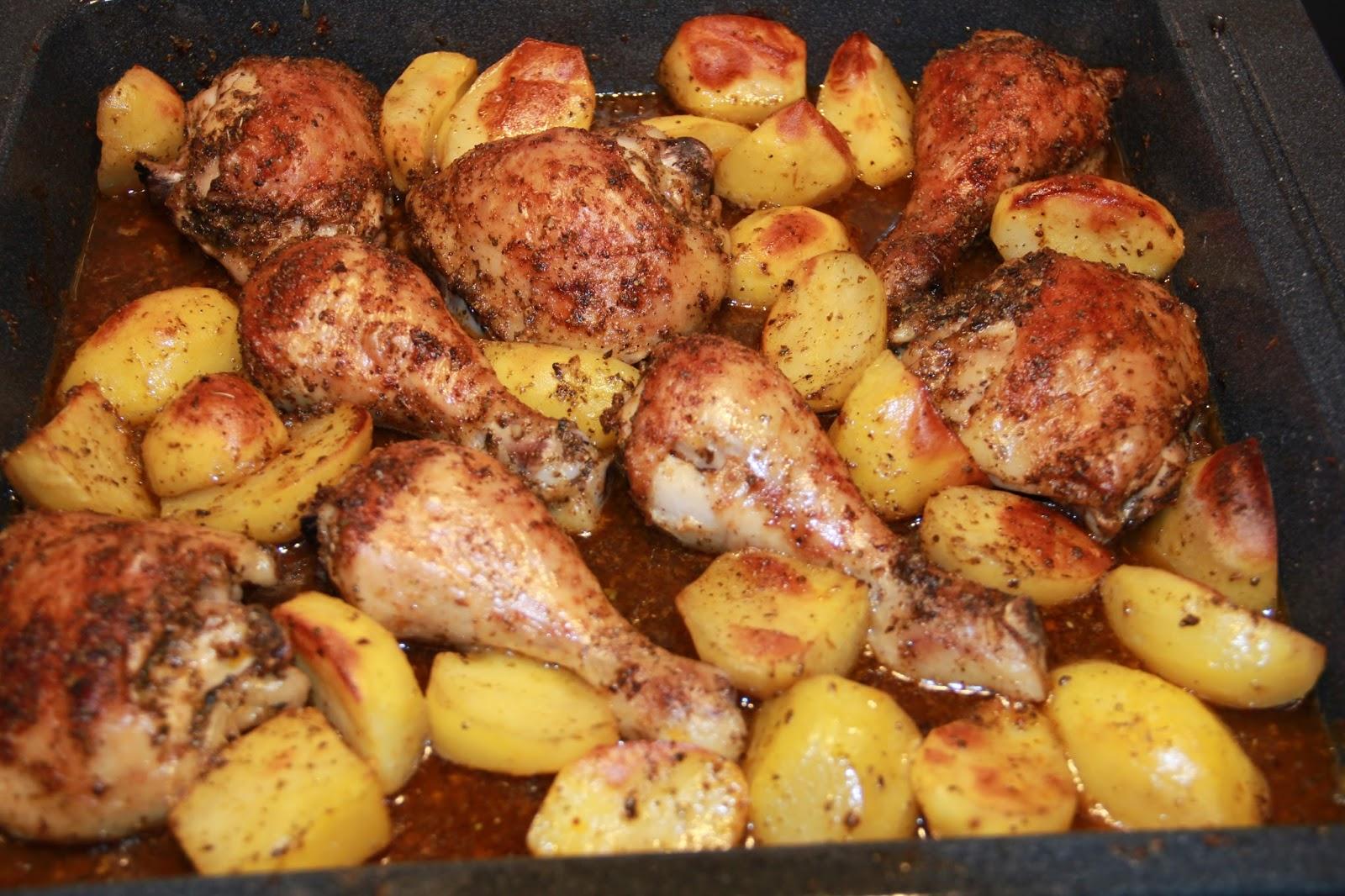 Курица запеченная в духовке целиком - пошаговый рецепт