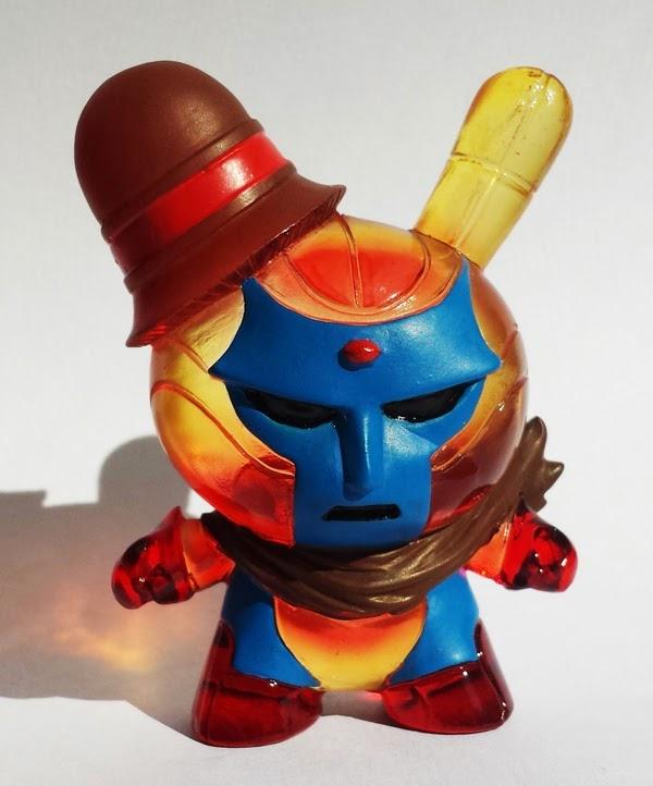 "New York Comic Con 2014 Exclusive ""Blue Face"" Vixion Custom Resin Dunny by Erick Scarecrow"