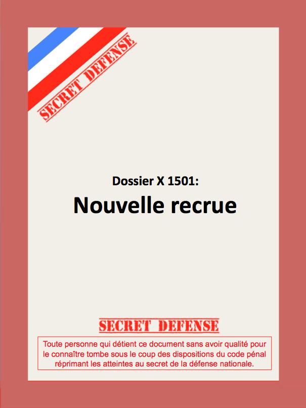 Dossier Nouvelle Recrue, Cliquez dessus