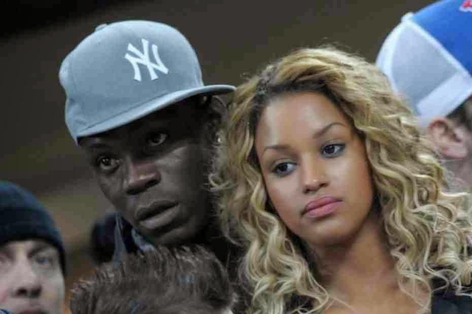 Fanny Neguesha and Mario Balotelli