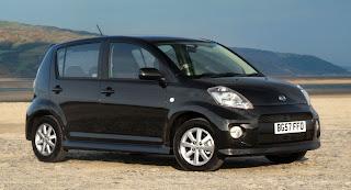 Harga dan spesifikasi Daihatsu Sirion 2013